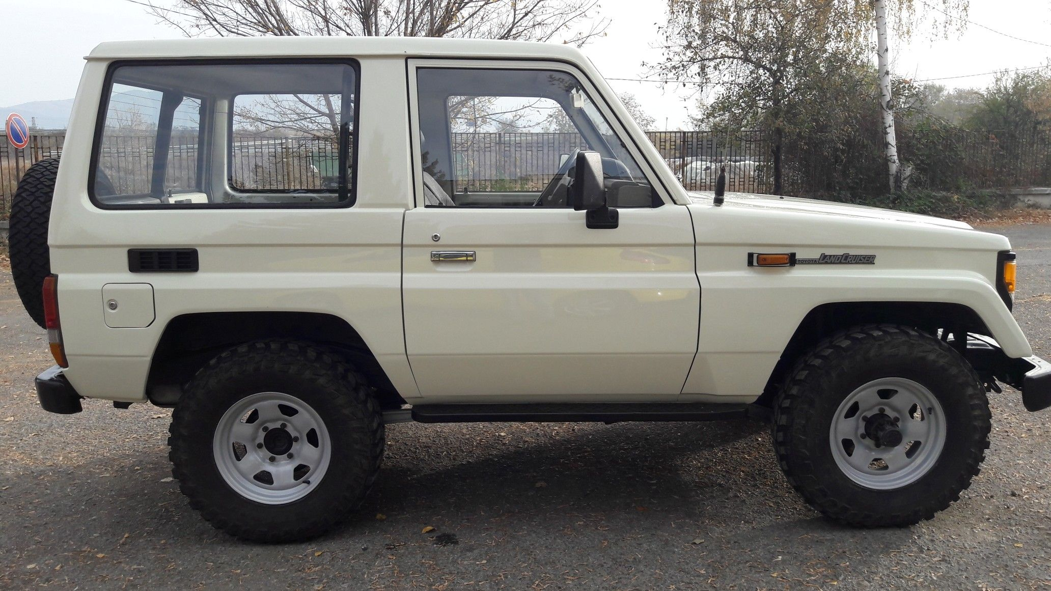 This Is My Toyota Lj70 After Restoration Process