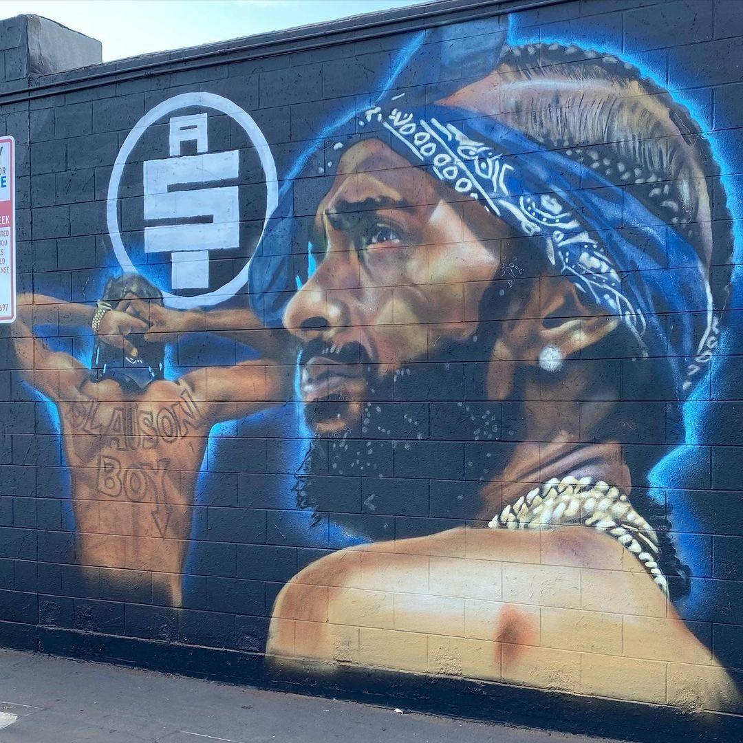 Nipsey Mural Los Angeles
