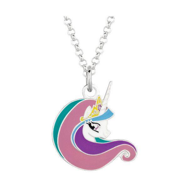 Fine silver plated celestia face my little pony pendant necklace fine silver plated celestia face my little pony pendant necklace 16 liked on aloadofball Gallery