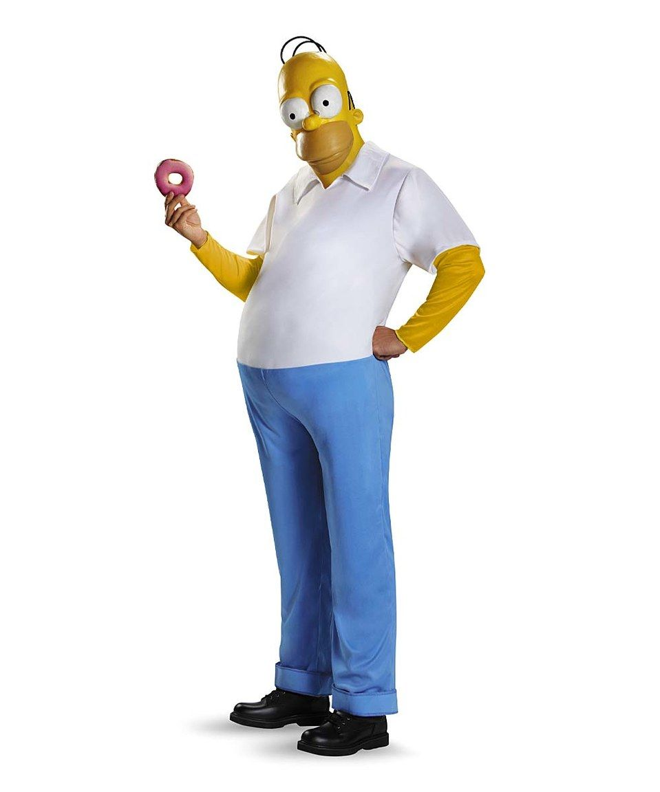 Homer Deluxe Simpsons Costume Set by Disguise #zulily #zulilyfinds ...
