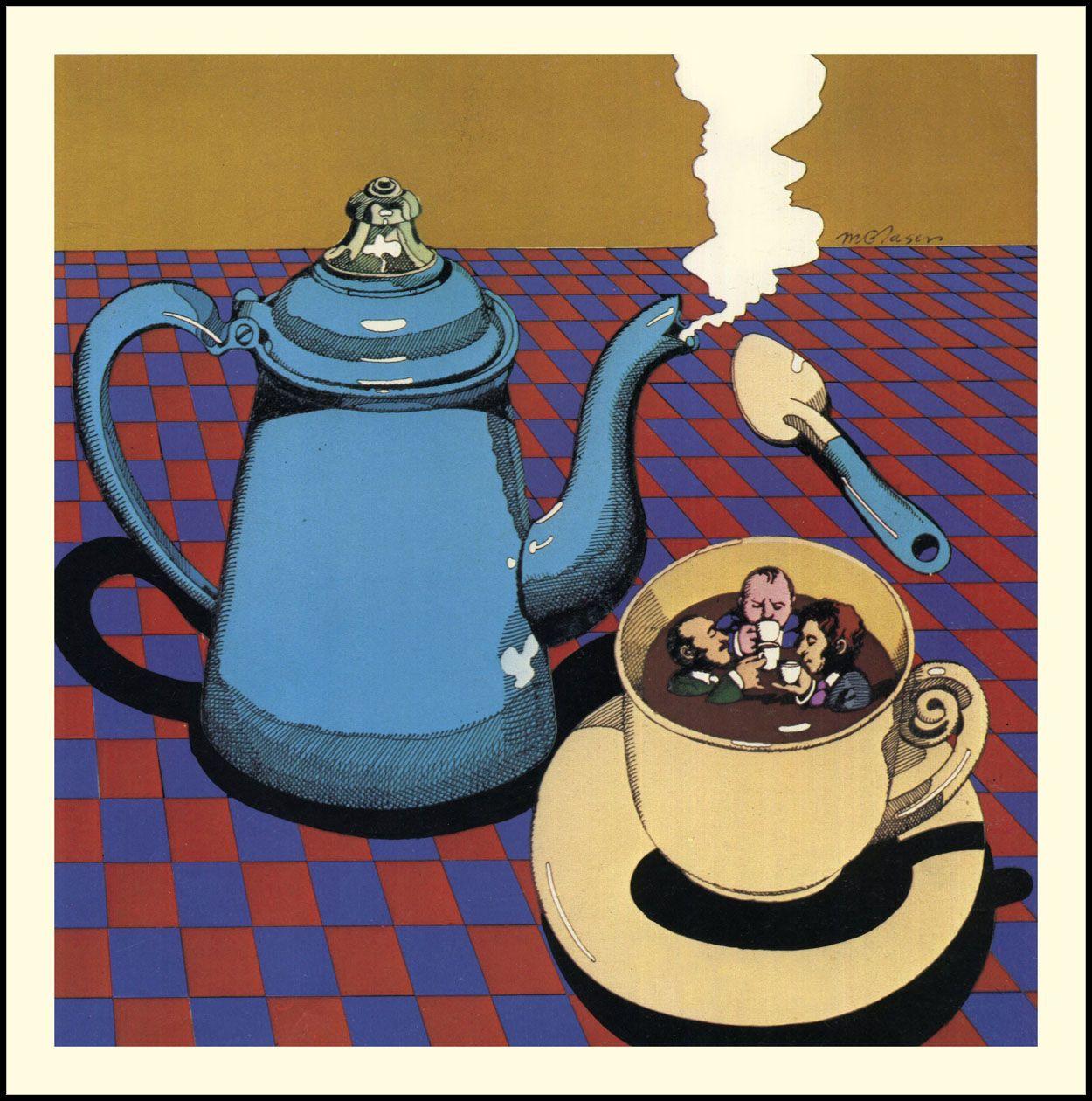 Milton Glaser-Coffee taste testers – BLCKDMNDS