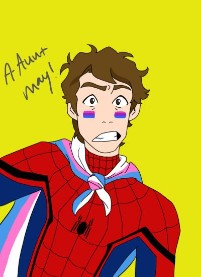 Trans spidey   Tumblr