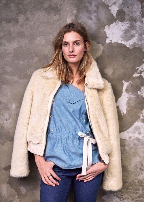 Blouse Irina// Marfa - Février #sezane #blouse #irina #marfa #fevrier #lookbook www.sezane.com