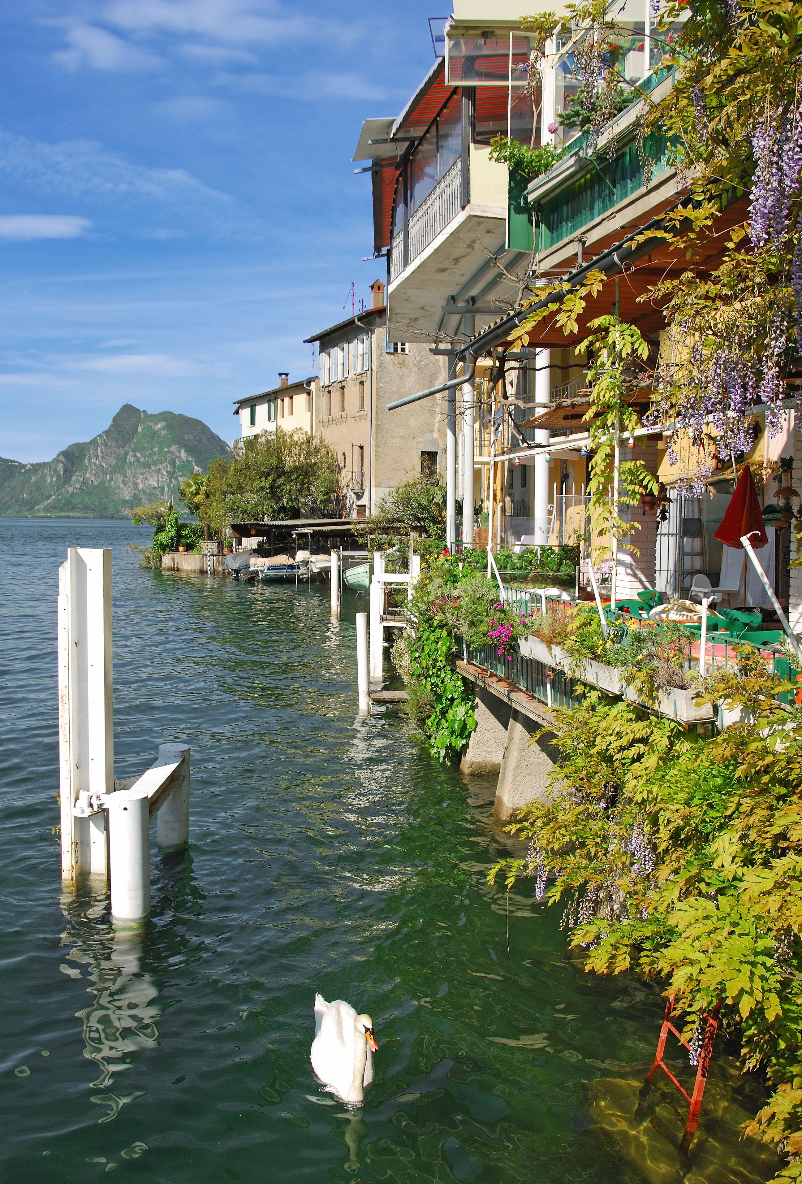 Gandria, Ticino, Switzerland