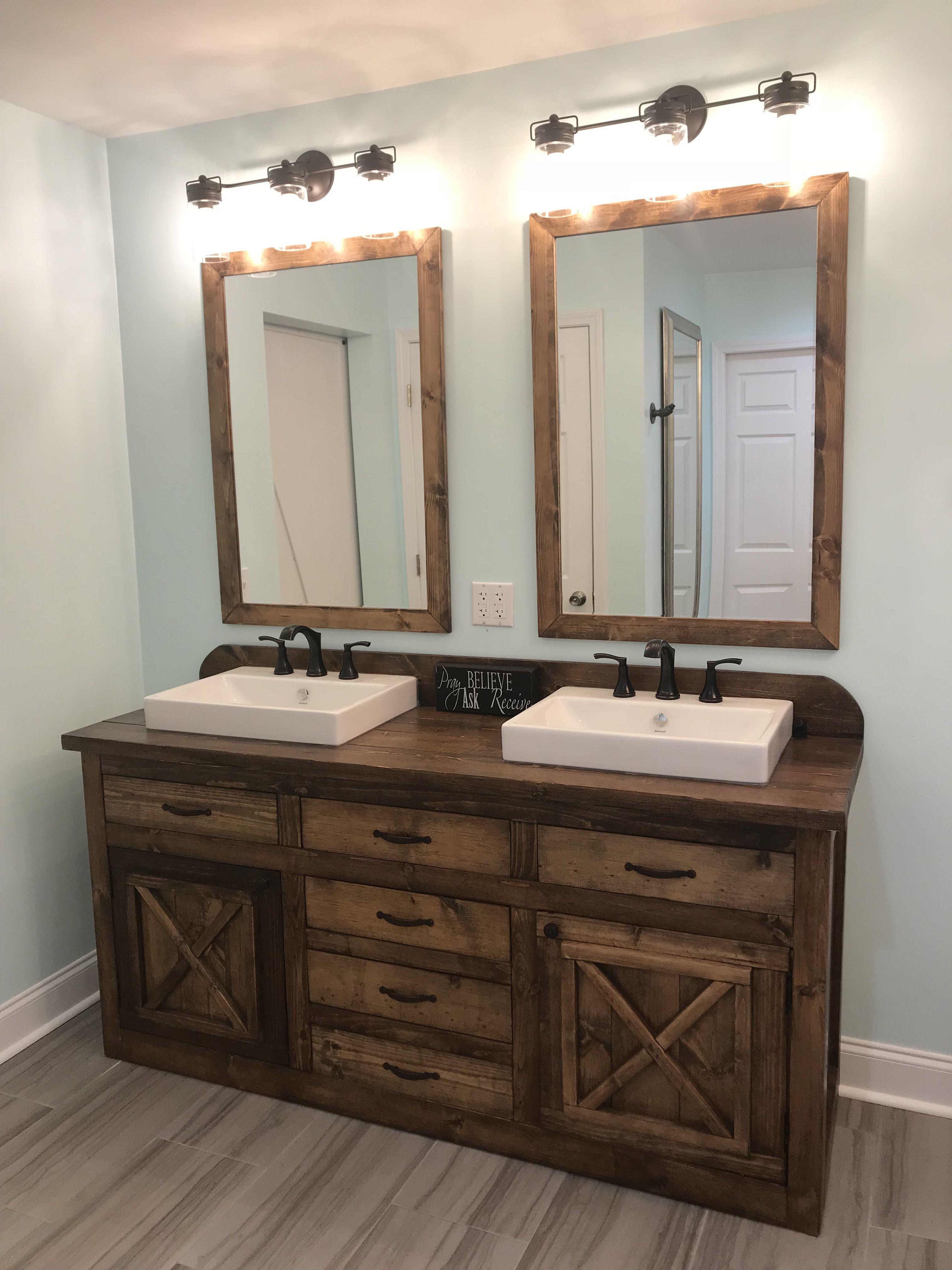 Our Farmhouse Double Vanity Double Vanity Bathroom Farmhouse Bathroom Vanity Small Bathroom
