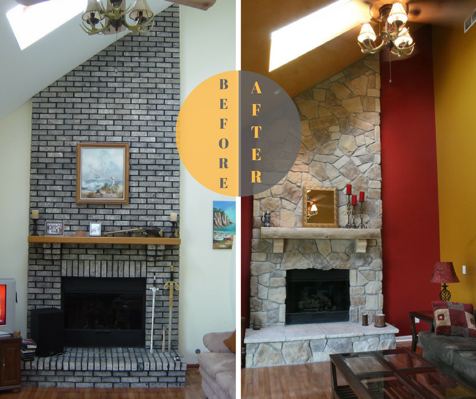 Brick Fireplace Chicago Fireplace Fireplace Design