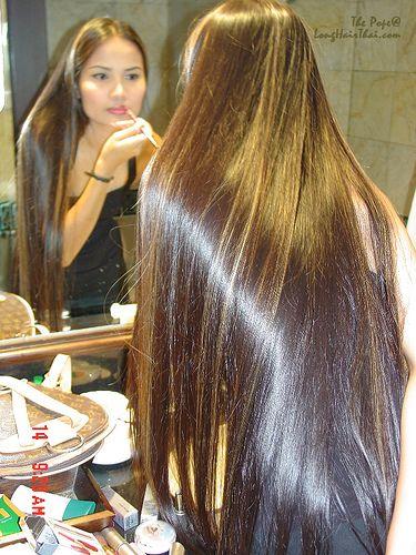 Image result for long hair thai Asian Beauty Long hair