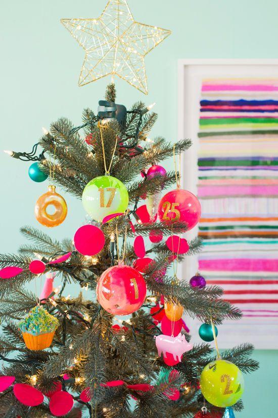 advent calendar ornaments Oh Joy Kate-mas Pinterest Advent