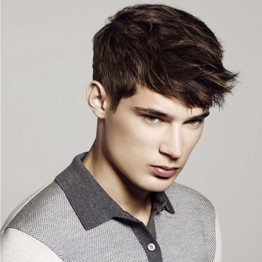 40 Coolest Hairstyles for Teenage Guys with Short Hair