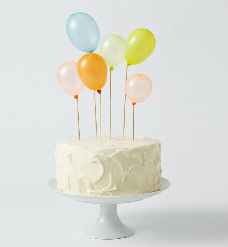 Diez Sencillas Y Originales Ideas Para Decorar Tus Tartas Y Pasteles - Tartas-de-cumpleaos-sencillas-y-originales