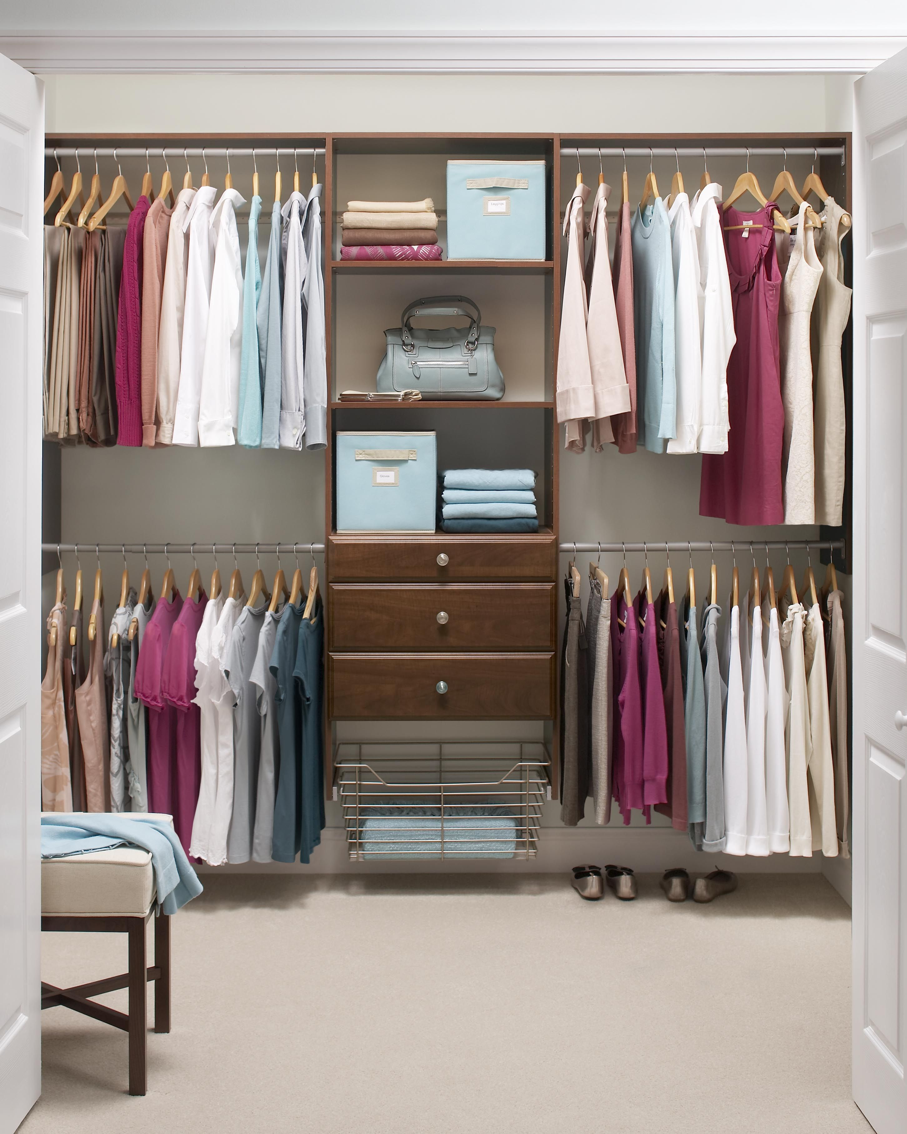 Martha Stewart Living, 72 In. H X 96 In. W Classic White Ultimate Closet  Kit, 680072 At The Home Depot   Mobile