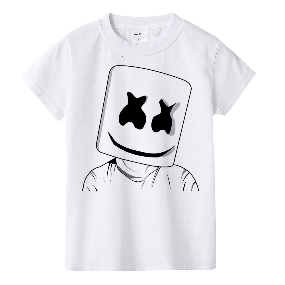 New Marshmello Kids T Shirt Kids Tshirts Dj Shirt Kids Prints