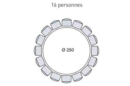 Table Ronde 16 Personnes