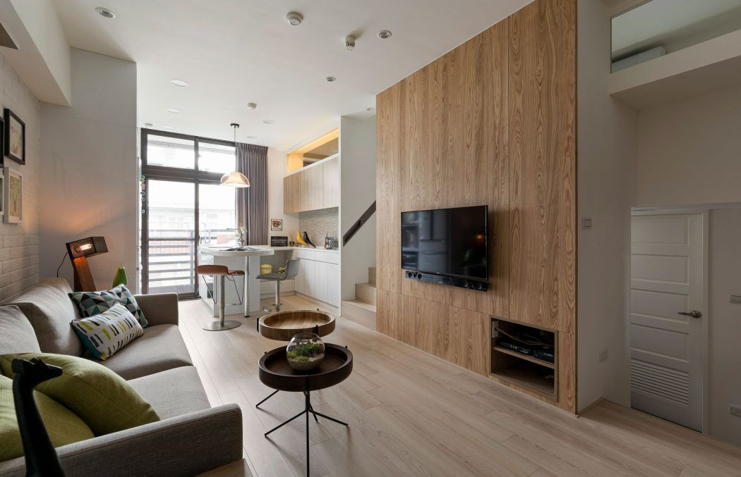 Creative apartment located in Taiwan, designed by Alfonso Ideas