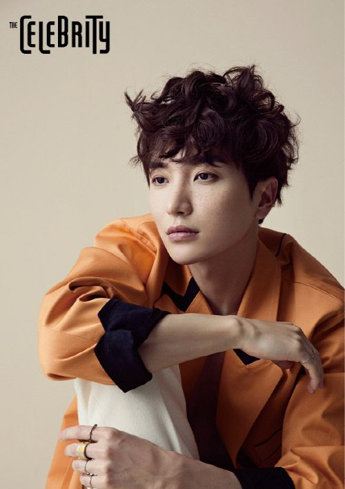 Lee Teuk - The Celebrity Magazine March Issue '15