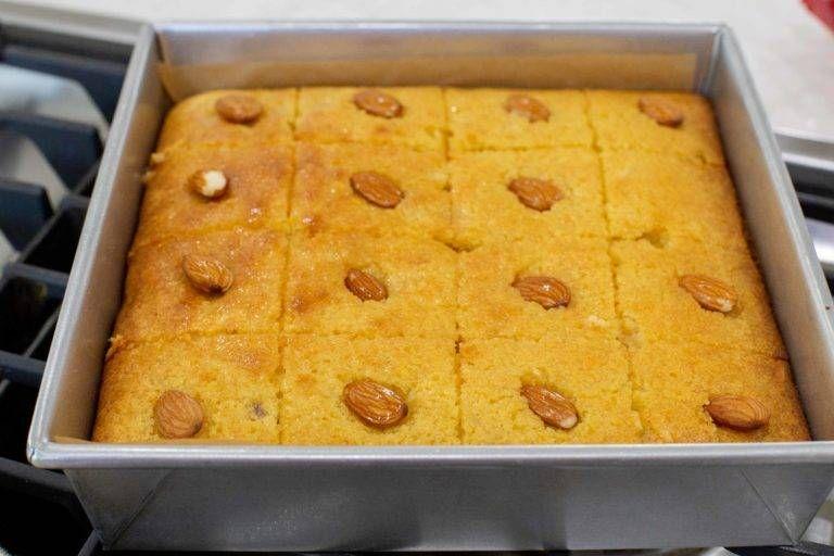 Aristelos Dulce árabe De Sémola En Mi Cocina Hoy En 2020 Dulces árabes Recetas De Comida Dulces