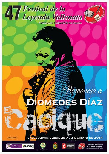 Afiche del 47 Festival de la Leyenda Vallenata - http://wp.me/p2sUeV-47d  - #Noticias #Vallenato !