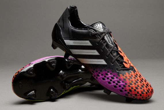 adidas Football Boots - adidas Predator LZ TRX FG - Firm Ground - Soccer  Cleats - Black-Metallic Silver-Infrared 039592c979