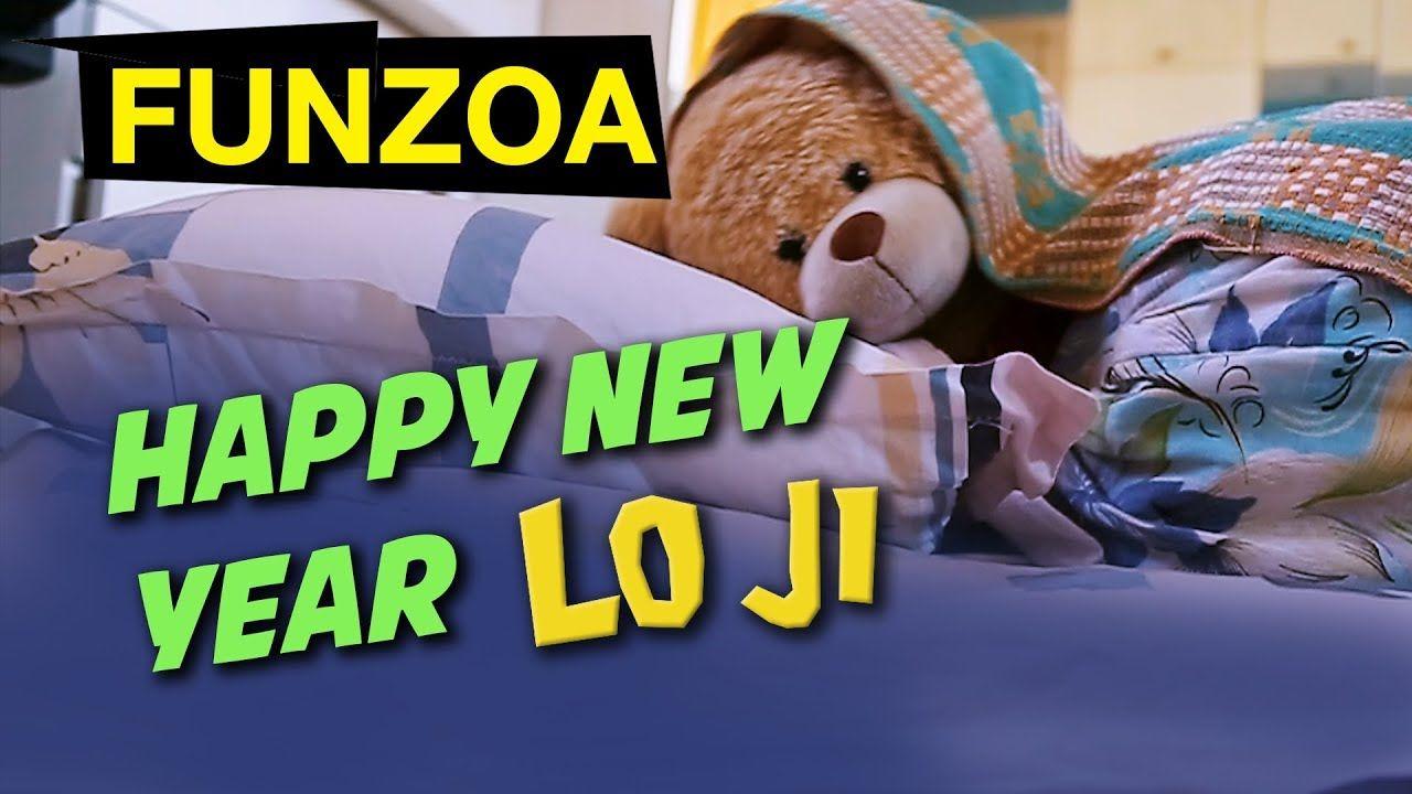 Happy New Year Lo Ji Funzoa Teddy Video Wishes Happy New Year With A F Funny Hindi Songs Happy New Year Song New Years Song