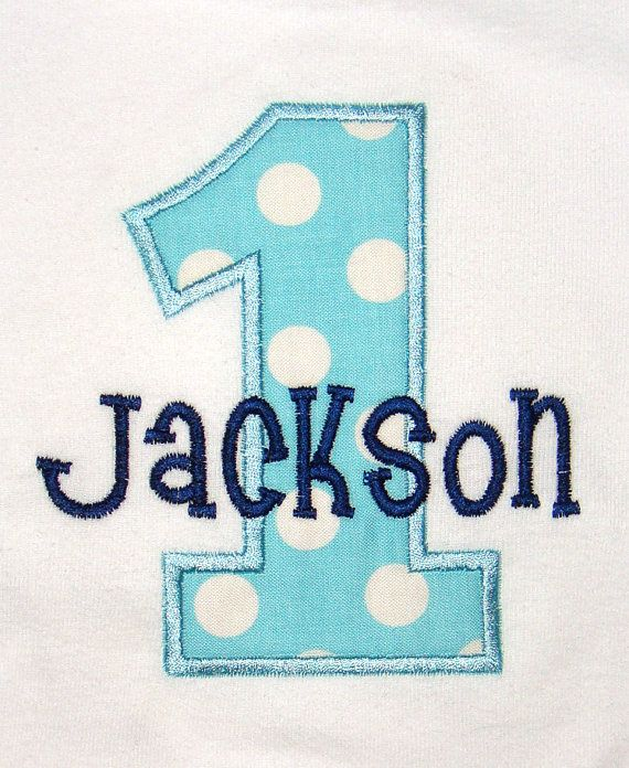 Personalized Birthday Shirt First Boys Girls Birthday1st