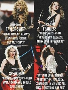 Her album speeches <3