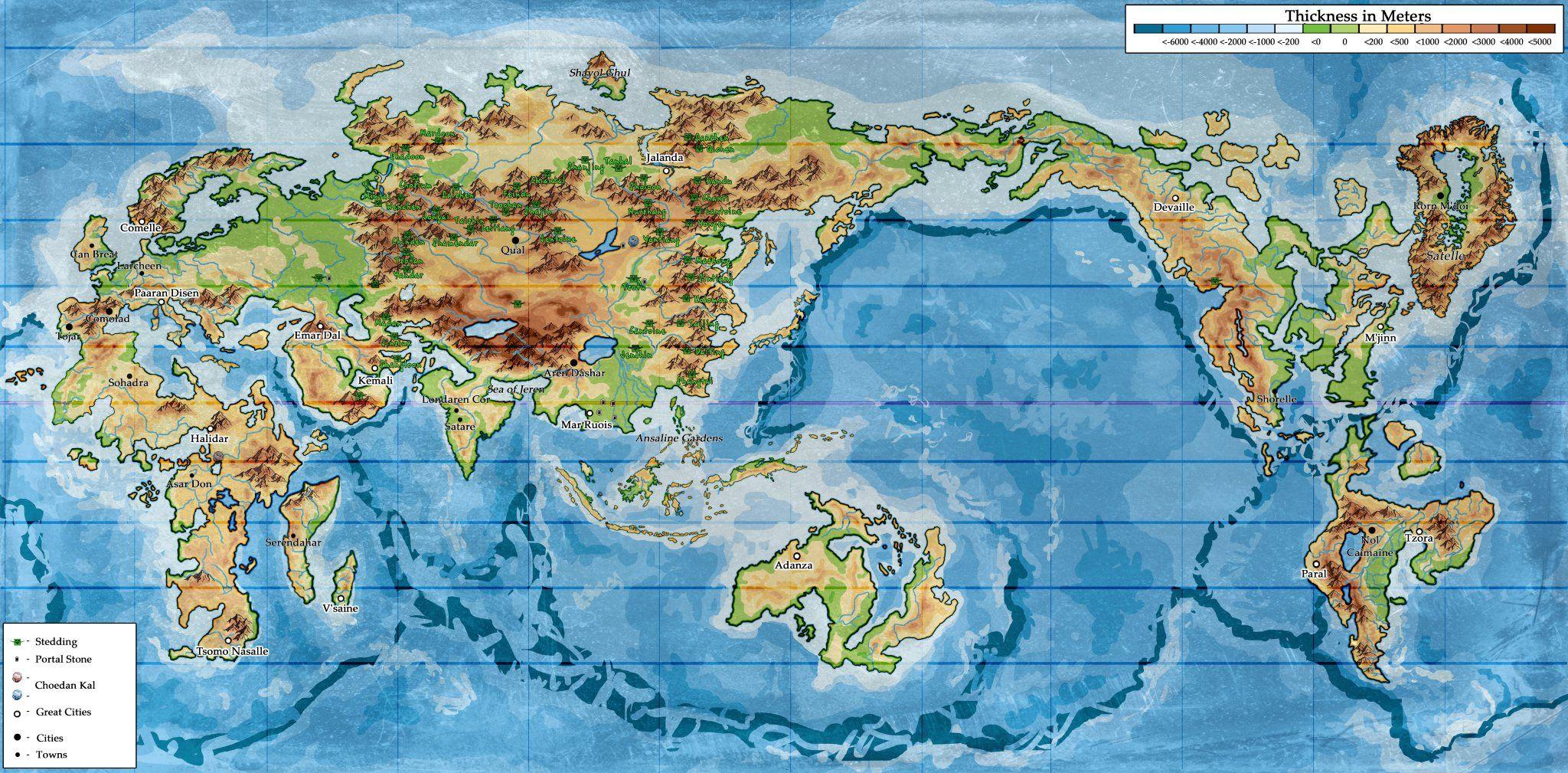 Efsaneler Çağı Haritası
