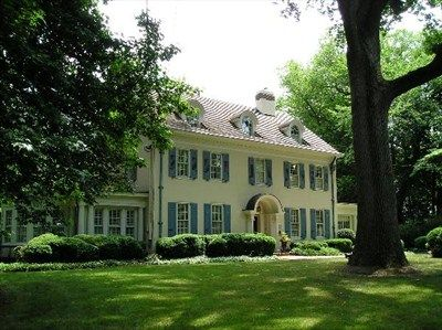 Harmony Hall Samuel Stokes House 1753 Moorestown Nj House Historic Home House Styles