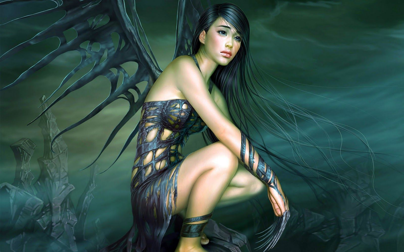 Scary Gothic Wallpaper Free Celebrity Wallpapers Bananas