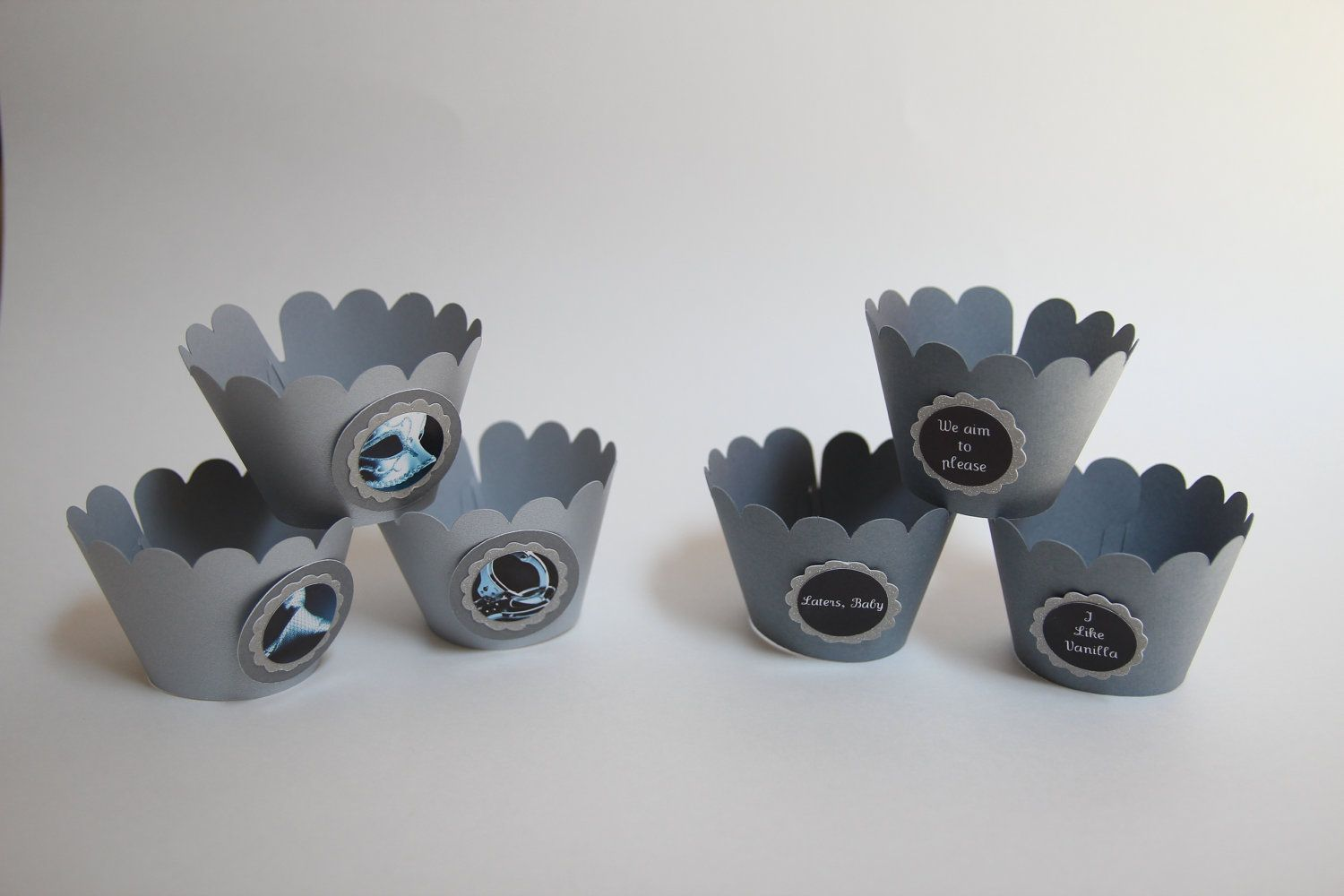 Fifty Shades Of Grey Party Favors Cupcake Wrappers
