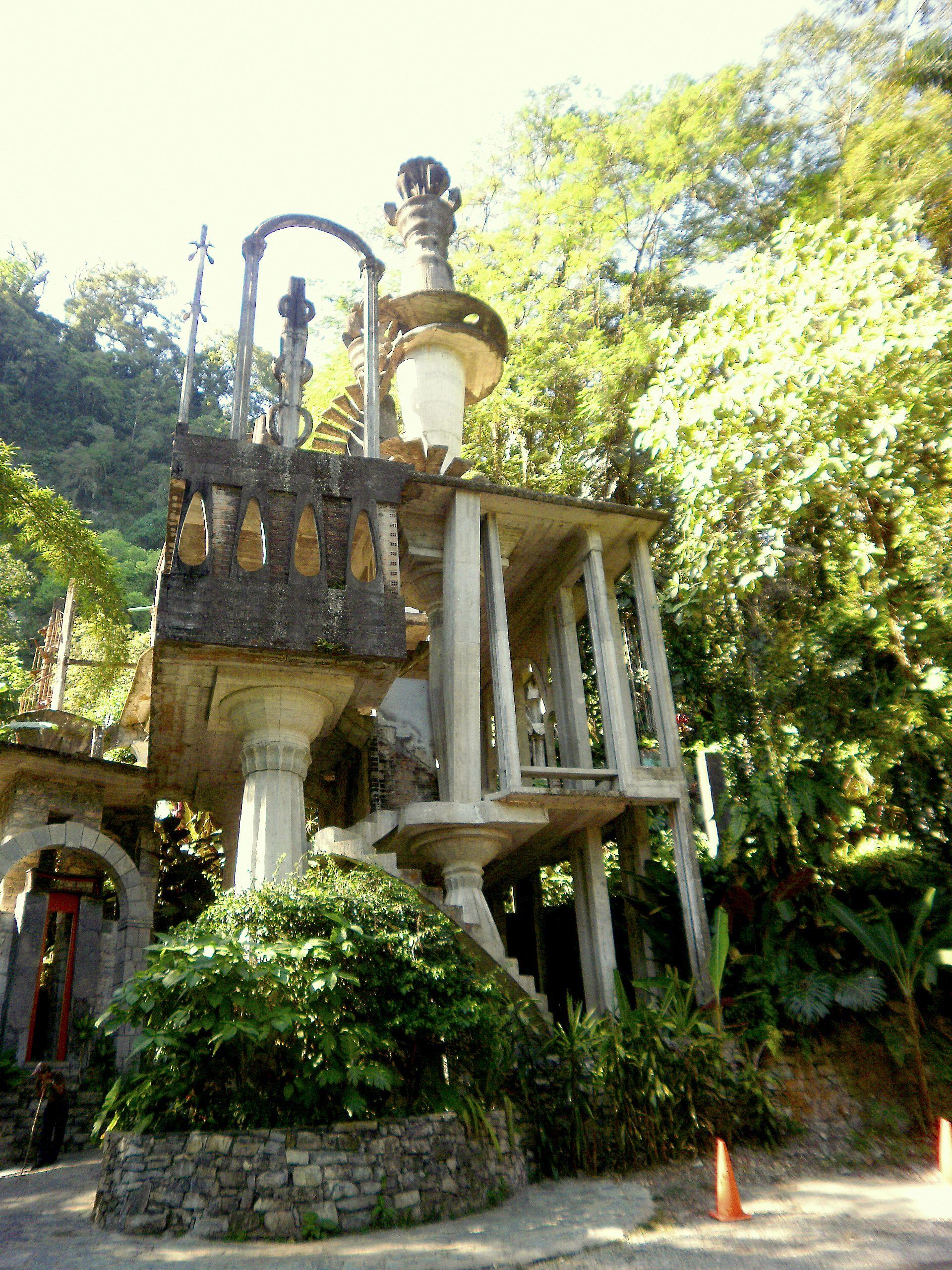Castillo Surrealista of Edward James in Xilitla Mexico