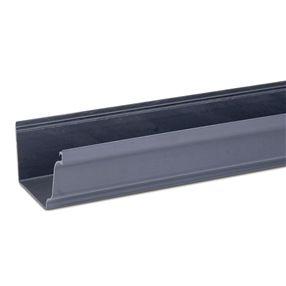 Best 4M System Plus Gutter In Anthracite Grey Half Round 640 x 480