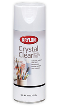Crystal Clear Acrylic Protective Spray Finish For All Kinds Of Arts Crafts And Home Décor Projects Permanent Gloss