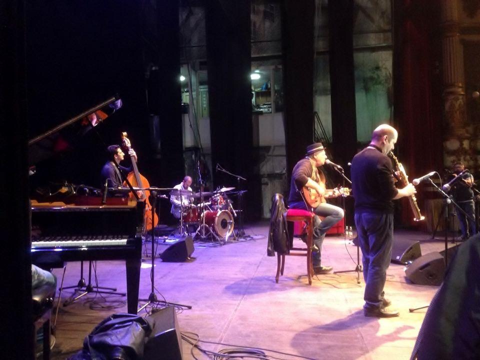 Enzo Gragnaniello special guest, Napoli || La Musica Insieme Tour 2015. Stefano Di Battista, Nicky Nicolai, Erri De Luca
