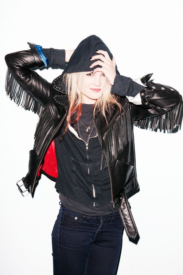 Alison Mosshart talks about her Surface To Air Collaboration and the Alison Leather Jacket.