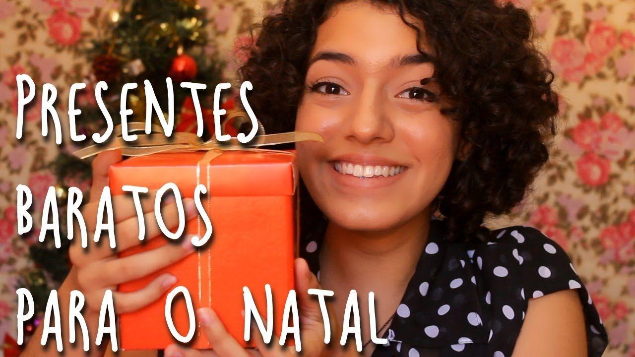 Ideias de Presentes Baratos Para o Natal! / Ideas de regalos baratos para la Navidad!/ Cheap Gift Ideas for Christmas!