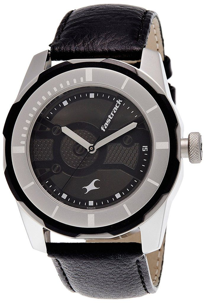 Fastrack Economy 2013 Analog Black Dial Men's Watch