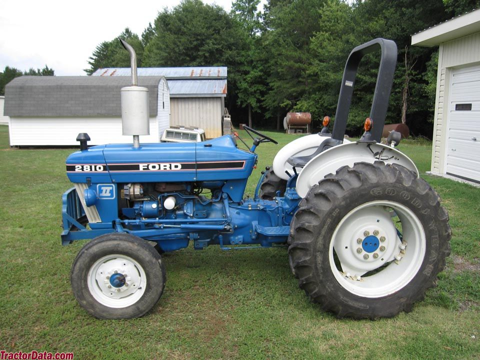 TractorData.com Ford 2810 tractor photos information | Tractors, Tractor  photos, Ford tractorsPinterest