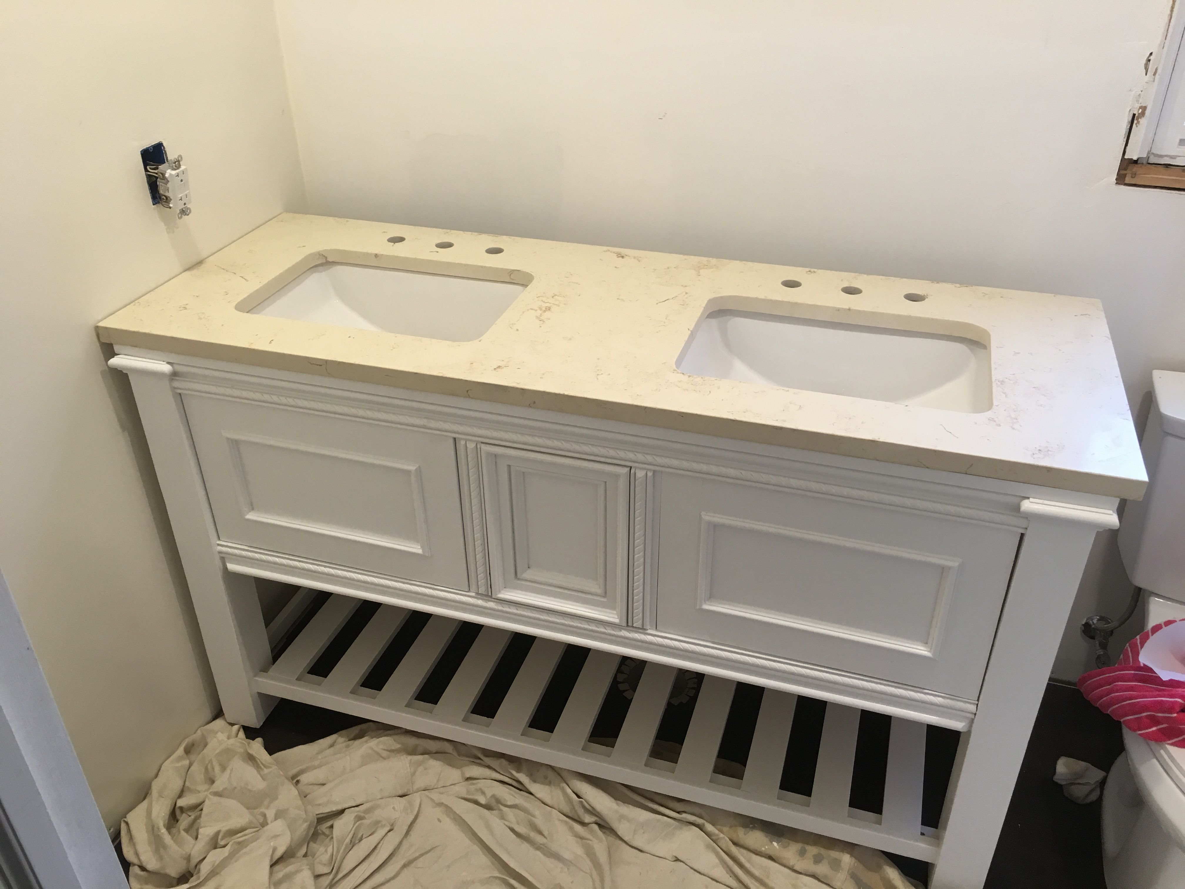 Double Vanity Do It Yourself Home Projects From Ana