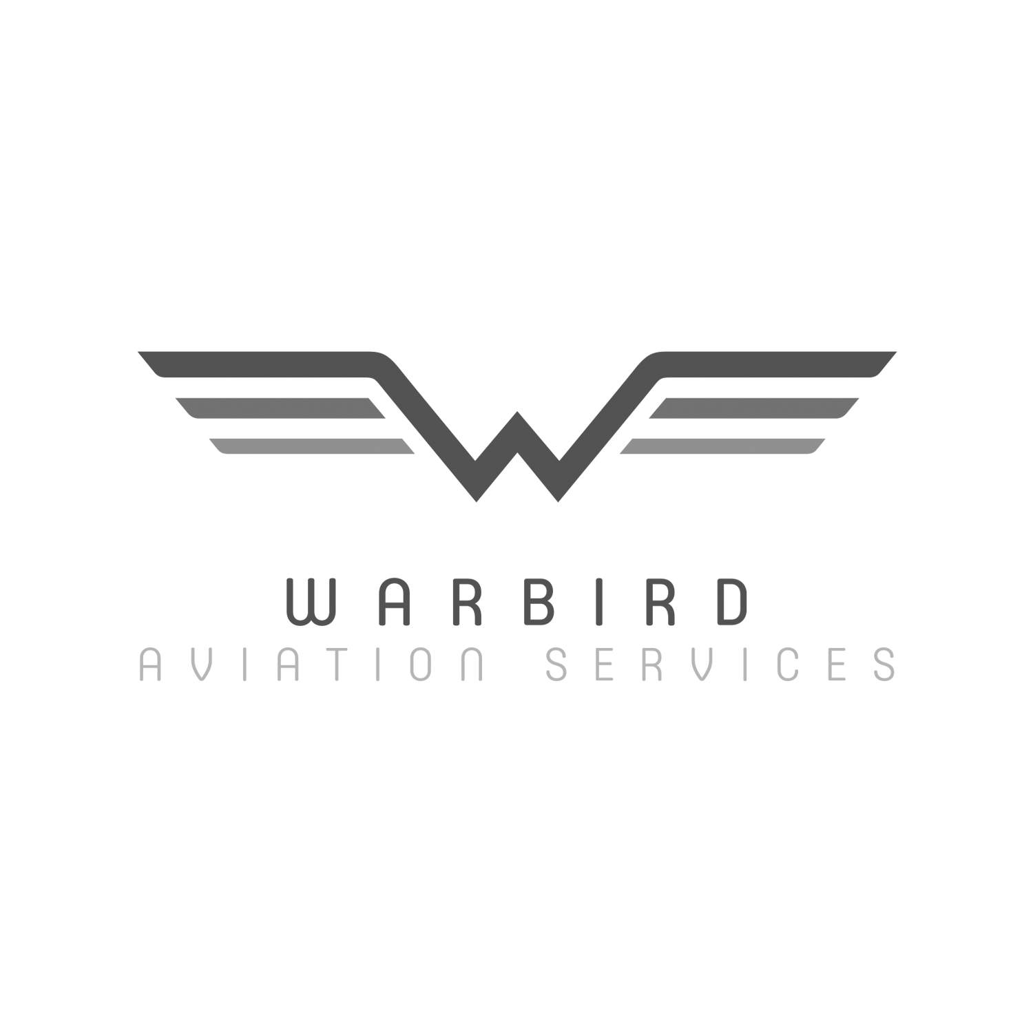 logo design for aviation services company  who build wwii aeroplane spare parts