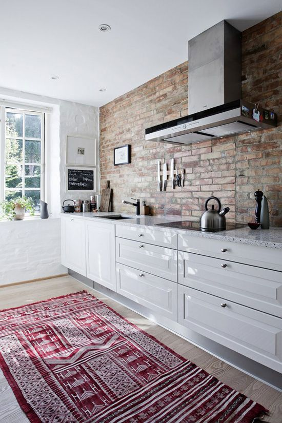 50 stunning brick wall interior in classic and modern