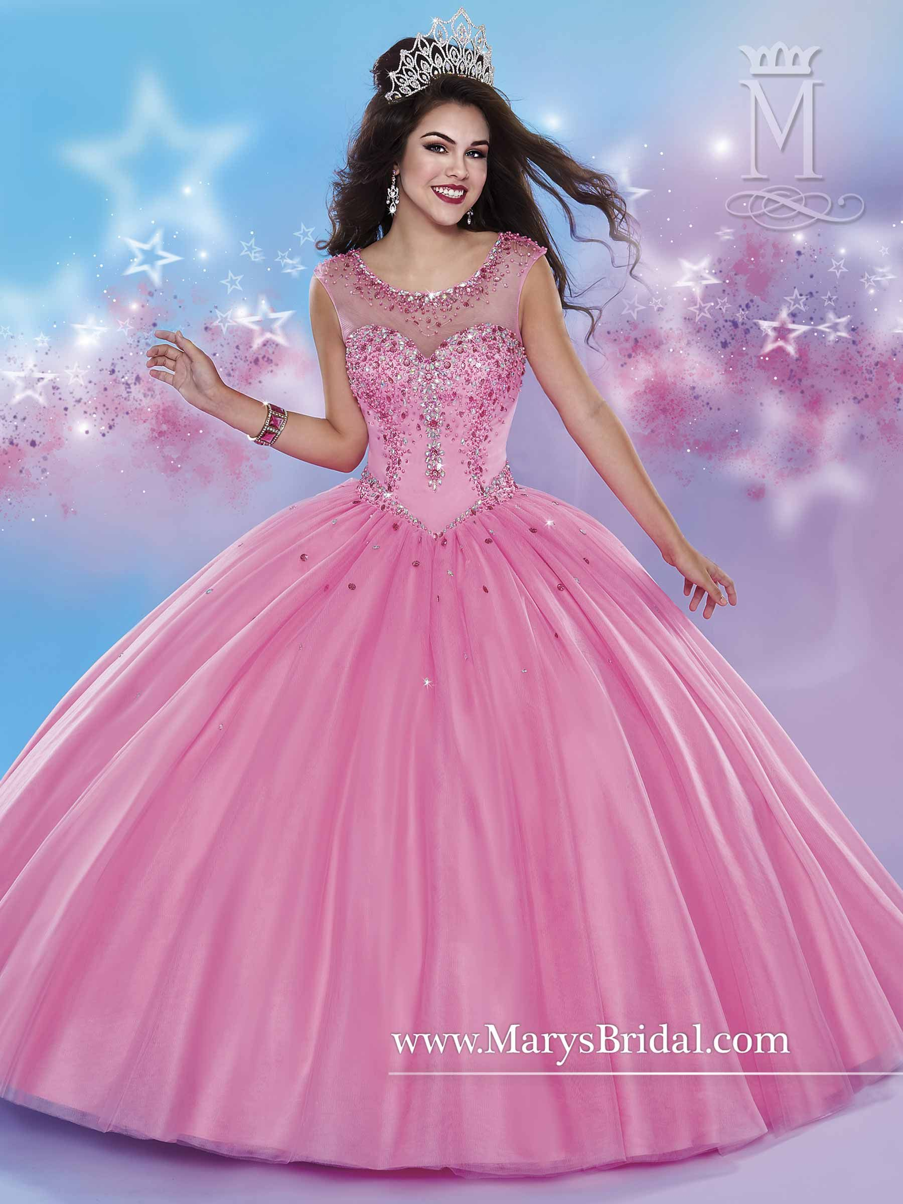 Mary\'s style ID 4657 | A Ball erina | Pinterest | Vestido de quince ...