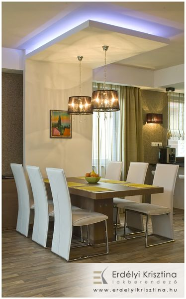 Világítás megoldás | Ceiling design living room, Bedroom ...