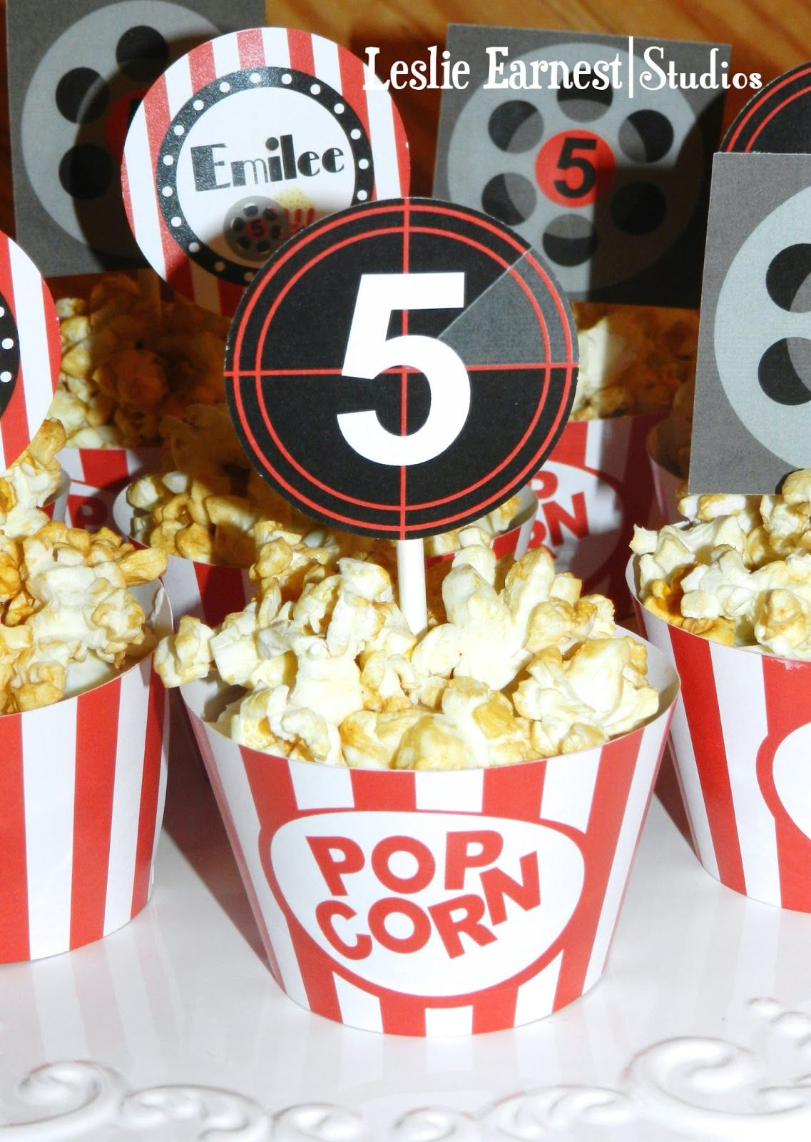Fun Movie Theme Party With Free Printables Parties