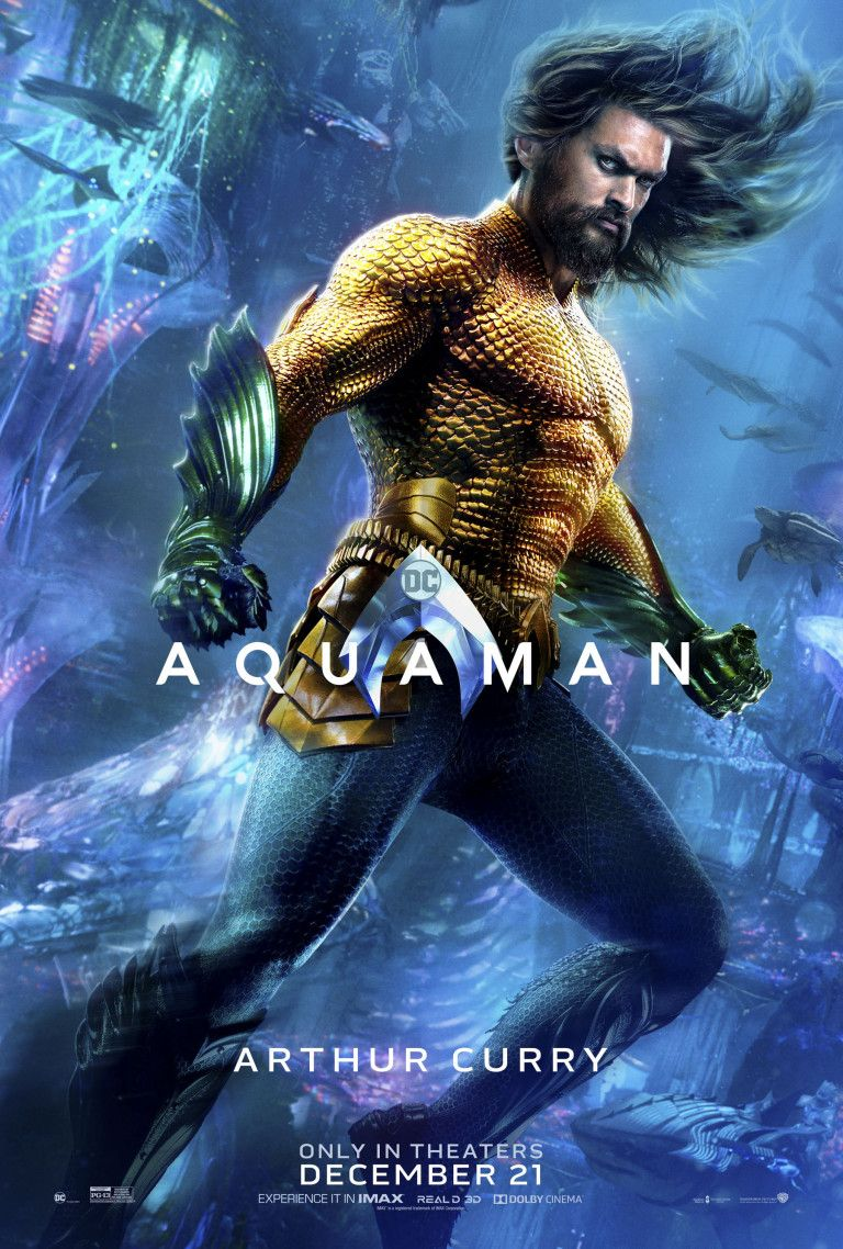 Aquaman Reveals 7 Stunning New Character Photos Aquaman Filme
