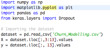 Artificial Neural Network for Customer's Churn Prediction (Python