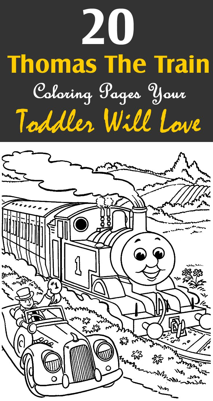 Top 20 Free Printable Thomas The Train Coloring Pages Online | Wills ...
