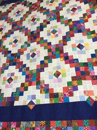 Scrappy Double Irish Chain Scrappy Quilt Patterns Scrap Quilt Patterns Irish Chain Quilt Pattern