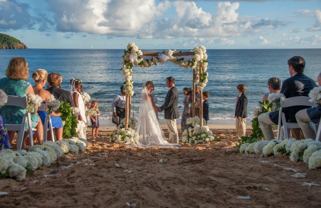 Curtain Bluff Hotel Antigua Island Destination Wedding Antigua