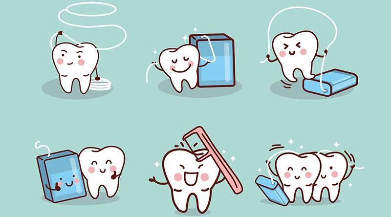 Do You Routinely Floss Your Teeth Brushing Alone Misses 40 Of Your Tooth Surfaces So Make Sure You Floss To Protect Your Beautiful Teeth งาน