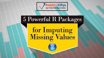 Tutorial on 5 Powerful R Packages used for imputing ...